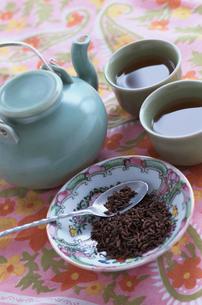 中国茶のセットの写真素材 [FYI03237311]