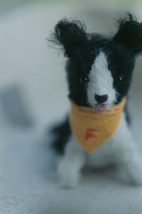 犬のぬいぐるみの写真素材 [FYI03238204]