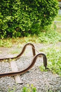 線路の終わりの写真素材 [FYI03238218]