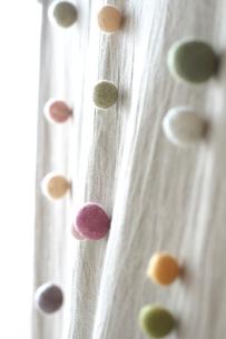 カラフルな綿の写真素材 [FYI03238505]
