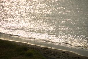 キラキラ光る海の写真素材 [FYI03238626]