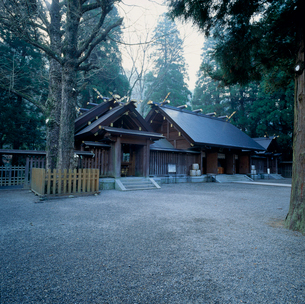 天岩戸神社の写真素材 [FYI03239432]