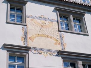 プラハの日時計の写真素材 [FYI03240533]