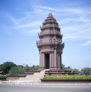 独立記念塔の写真素材 [FYI03242309]