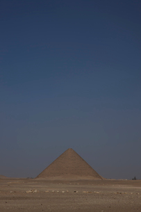 赤のピラミッドの写真素材 [FYI03243253]