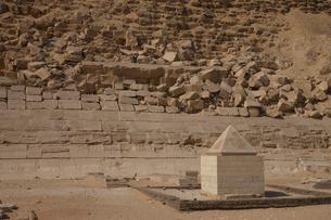 赤のピラミッドの写真素材 [FYI03243255]
