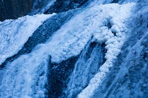 氷結した袋田の滝の写真素材 [FYI03243534]