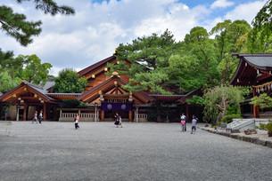 熱田神宮の神楽殿の写真素材 [FYI03244001]