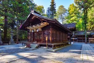 諏訪大社下社春宮の神楽殿の写真素材 [FYI03244050]