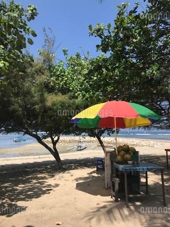 バリ島 ビーチの写真素材 [FYI03245981]