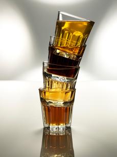 グラスと飲料の写真素材 [FYI03246622]