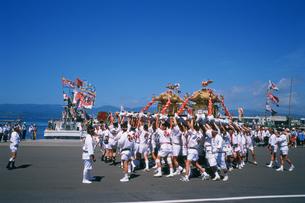 岩内神社・港祭りの写真素材 [FYI03246787]