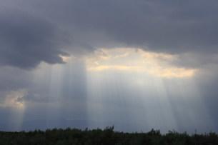 光芒の写真素材 [FYI03247643]