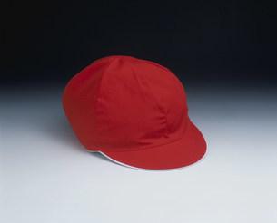 運動会用の赤い帽子の写真素材 [FYI03249069]