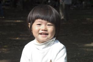 2歳の子供の写真素材 [FYI03249121]