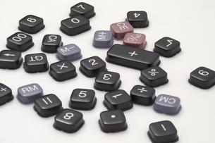 電卓のキーの写真素材 [FYI03249166]