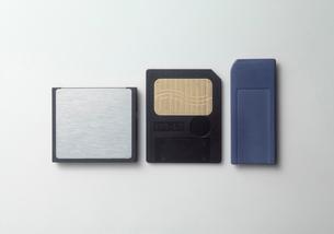 メモリーカードの色々の写真素材 [FYI03249171]