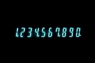 計算機の表示の写真素材 [FYI03249172]
