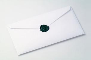 シーリングワックスの封印の写真素材 [FYI03249180]