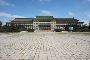満州国帝宮の予定地の地質宮の写真素材 [FYI03251530]