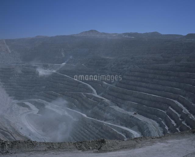 チュキカマタ銅山の写真素材 [FYI03252027]