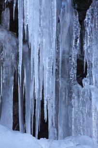三十槌の氷柱の写真素材 [FYI03253919]