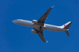 飛行機の離陸の写真素材 [FYI03254587]