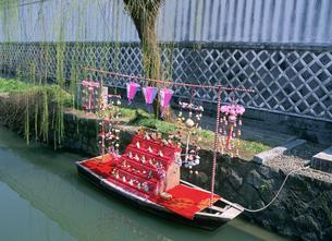 柳川ひな祭りさげもんの写真素材 [FYI03255207]