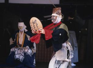 壬生寺の壬生狂言の写真素材 [FYI03255401]
