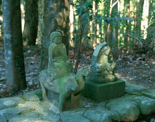 熊野古道・牛馬童子像の写真素材 [FYI03255480]