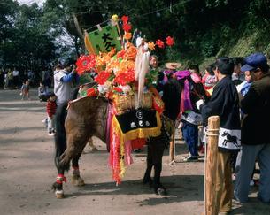 早馬祭り 春分の日の写真素材 [FYI03255491]