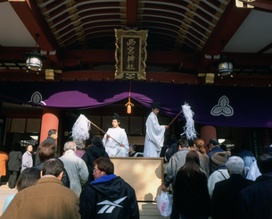 十日戎 西宮戎神社の写真素材 [FYI03255532]