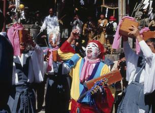 笑い祭りの写真素材 [FYI03255740]