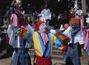 笑い祭りの写真素材 [FYI03255741]