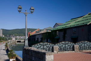 小樽運河の写真素材 [FYI03255800]