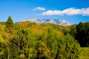 秋の大山山麓の写真素材 [FYI03256218]