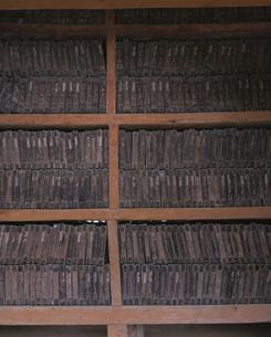 海印寺の八万大蔵経の写真素材 [FYI03257857]