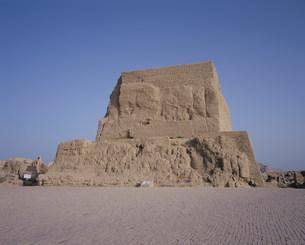 交河故城の仏塔の写真素材 [FYI03258872]