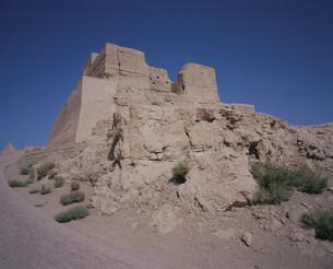 交河故城の仏塔の写真素材 [FYI03258879]