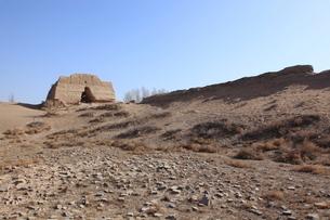 黒水国城堡遺址の写真素材 [FYI03259311]