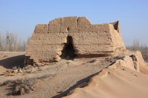 黒水国城堡遺址の写真素材 [FYI03259312]