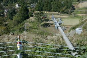 新潟中越地震 被災した旧山古志村の写真素材 [FYI03260351]