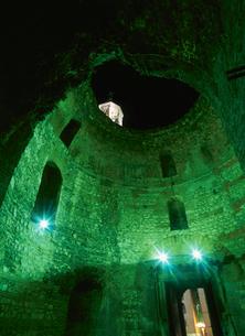 宮殿前庭部のドーム スピリット クロアチアの写真素材 [FYI03260485]
