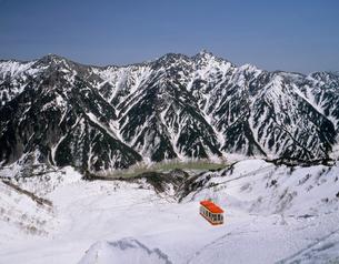 立山ロープウェイ 大観峰 立山・黒部アルペンルートの写真素材 [FYI03260684]