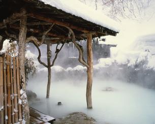 乳頭温泉郷の鶴の湯温泉の写真素材 [FYI03260791]