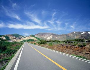 エコーラインより望む蔵王山の写真素材 [FYI03261075]