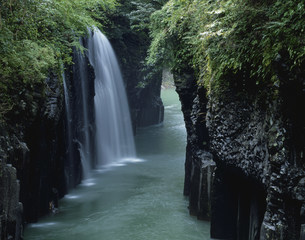 高千穂峡の写真素材 [FYI03261093]