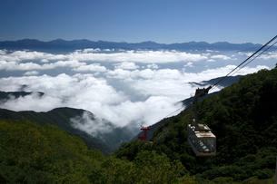 駒ヶ岳ロープウェイ 中央アルプスの写真素材 [FYI03261218]