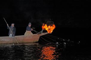 長良川の鵜飼の写真素材 [FYI03261226]