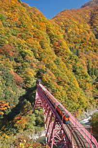 黒部峡谷鉄道の写真素材 [FYI03261230]